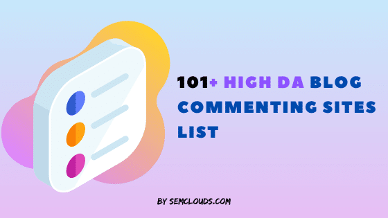 high da blog commenting siites